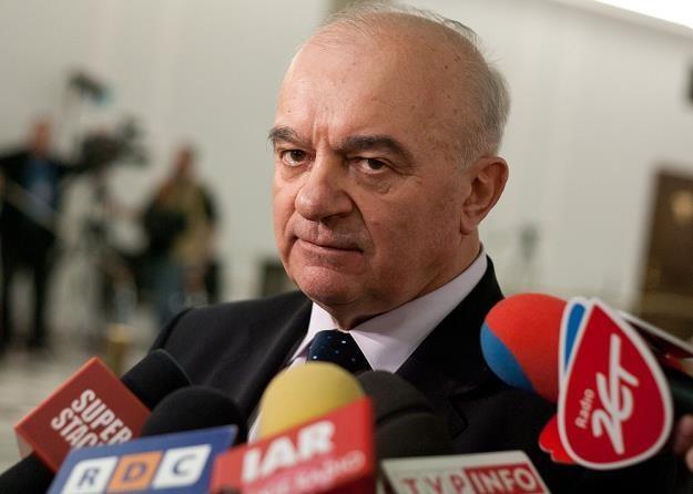 Stanisław Kalemba, minister rolnictwa. Fot Krystian Maj /Reporter