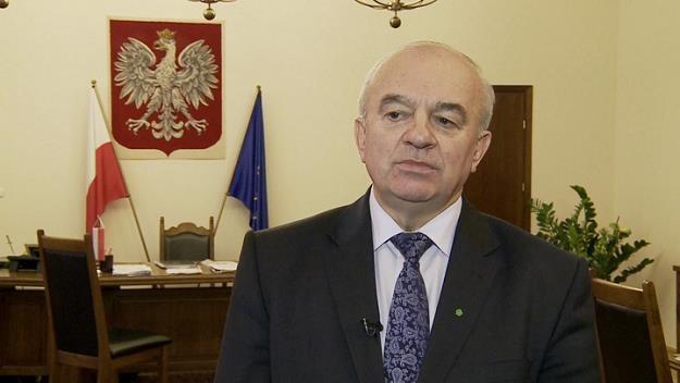Stanisław Kalemba, minister rolnictwa /Newseria Biznes