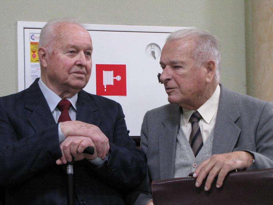 Stanisław Kania i Czesław Kiszczak  /Tomasz Skory /RMF FM