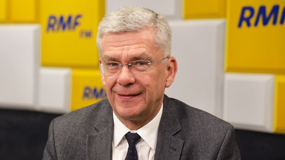 Stanisław Karczewski, gość Porannej rozmowy w RMF FM /Michał Dukaczewski /RMF FM