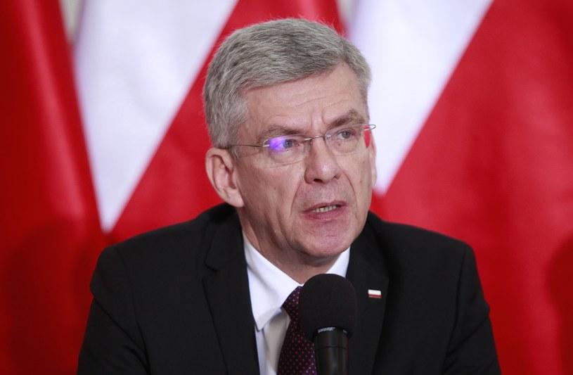 Stanisław Karczewski; Jestem zbombardowany szokującymi informacjami od pań posłanek, które były zaatakowane przez posłów Platformy /STEFAN MASZEWSKI/REPORTER /East News