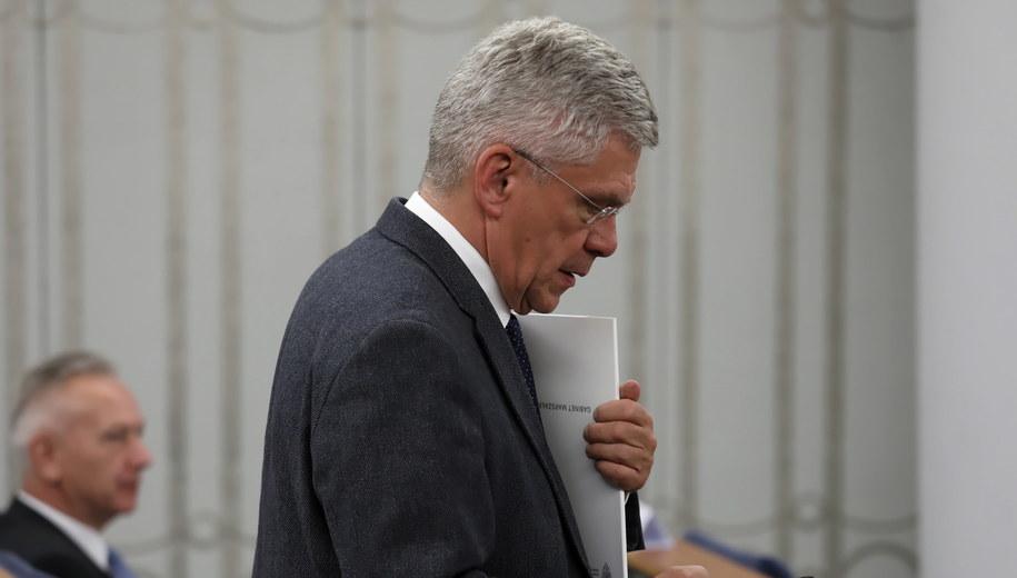 Stanisław Karczewski, marszałek Senatu w latach 2015-2019 / Tomasz Gzell    /PAP