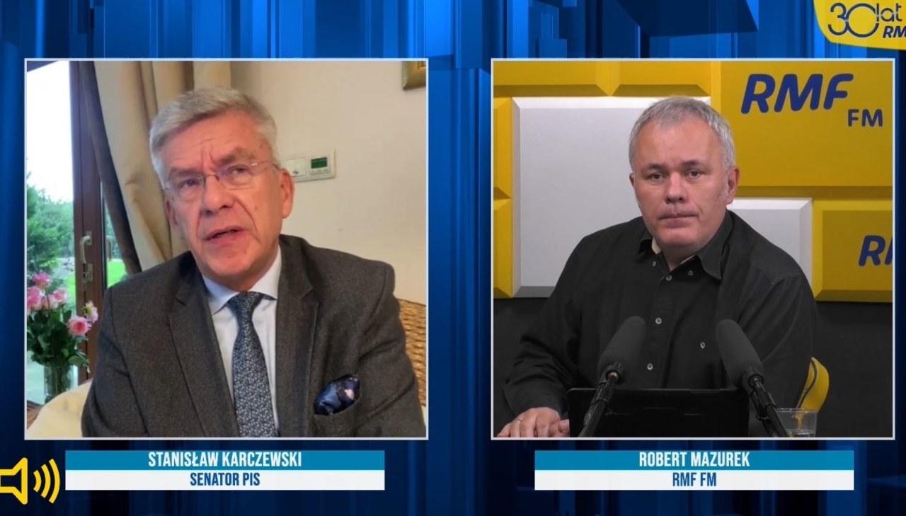 Stanisław Karczewski o sposobach walki z Covid-19: Jedno jabłko z wieczora i nie ma doktora
