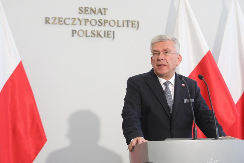 Stanisław Karczewski /Fot Tomasz Jastrzebowski /Reporter