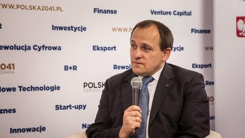 Stanisław Kluza, prezes zarządu BOŚ Banku