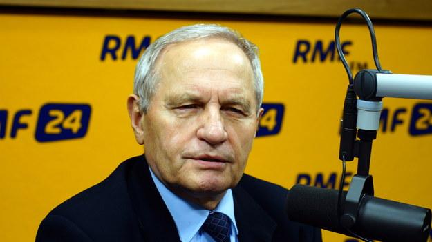 Stanisław Koziej był gościem Konrada Piaseckiego w Kontrwywiadzie RMF FM /Michał Dukaczewski /RMF FM