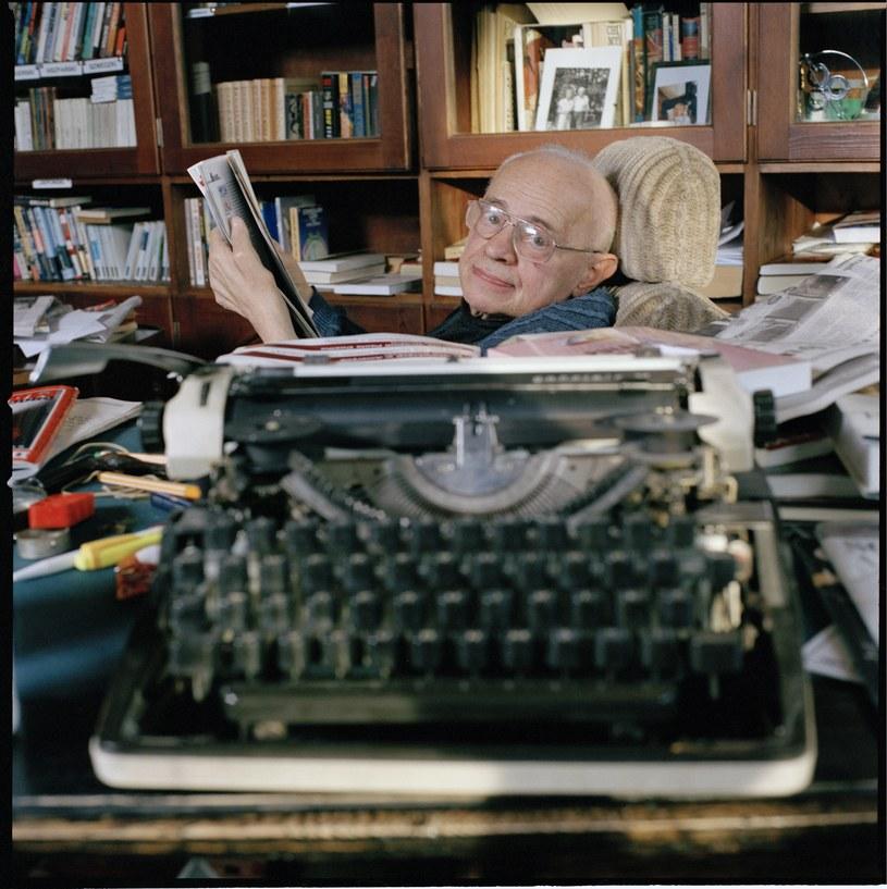 Stanisław Lem urodził się 12 lub 13 września (dokładny dzień nie jest znany) 1921 r, we Lwowie. Zmarł 27 marca 2006 r. w Krakowie. Fot. Tomasz Tomaszewski / Forum /Agencja FORUM