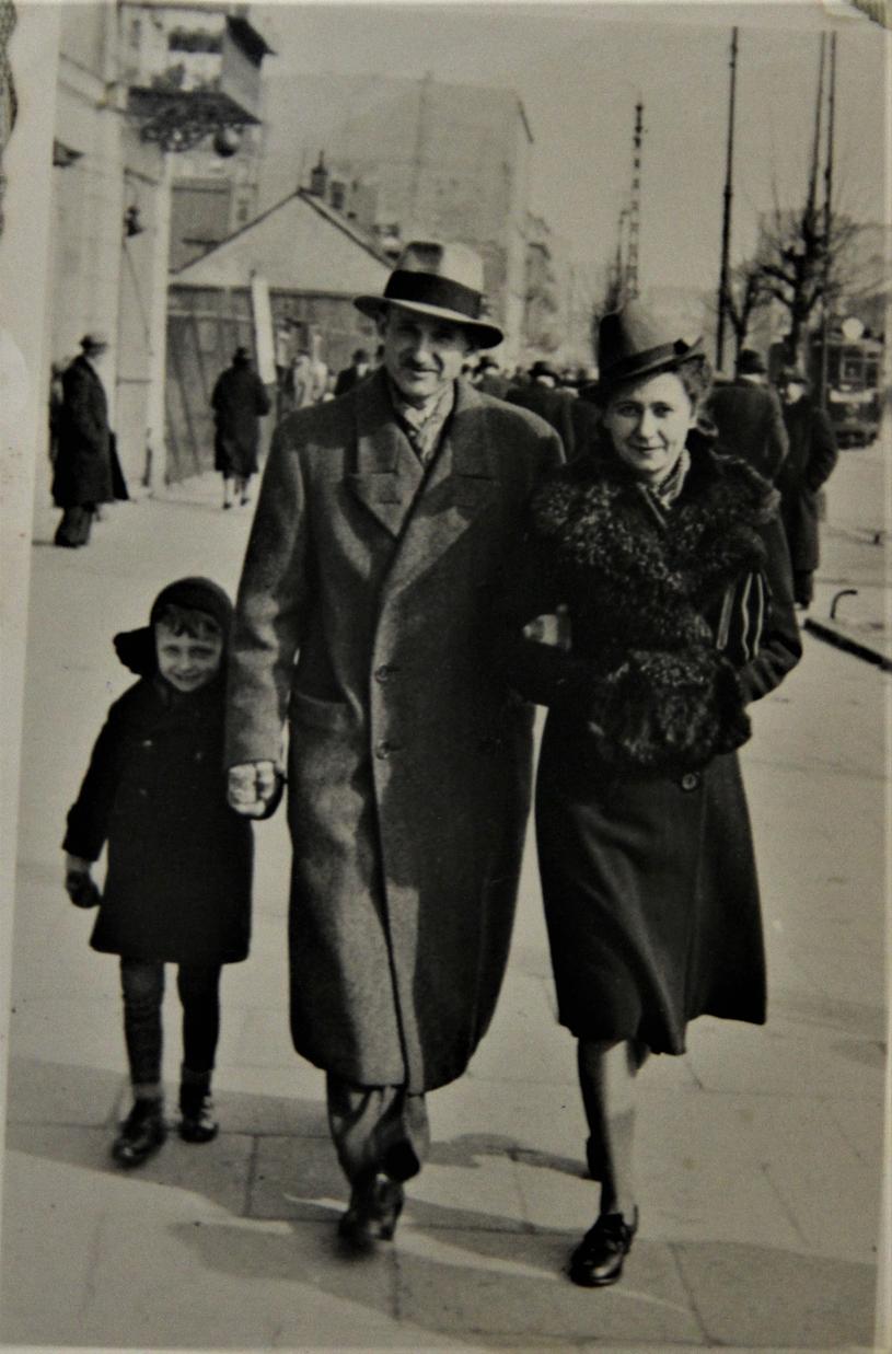 Stanisław Maciej Kicman z rodziną /archiwum prywatne
