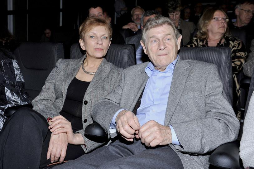 Stanisław Mikulski i Małgorzata Błoch-Wiśniewska /AKPA