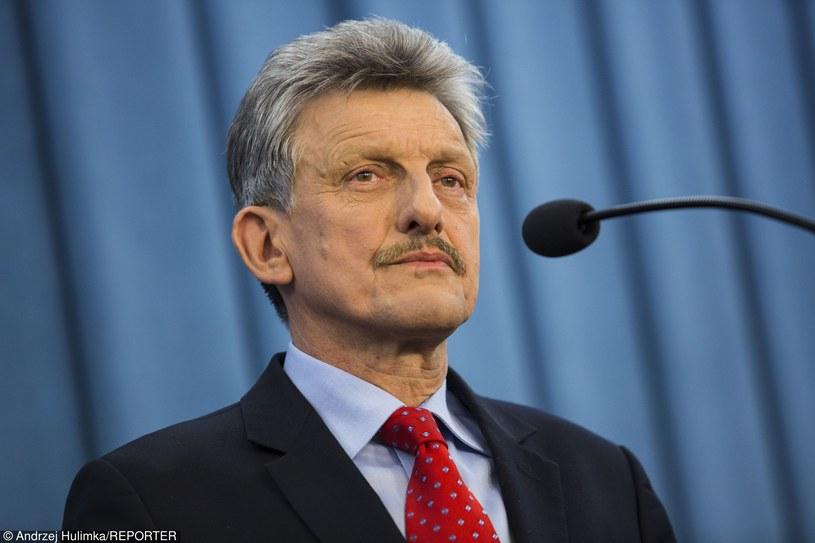 Stanisław Piotrowcz /Andrzej Hulimka/Reporter /Reporter