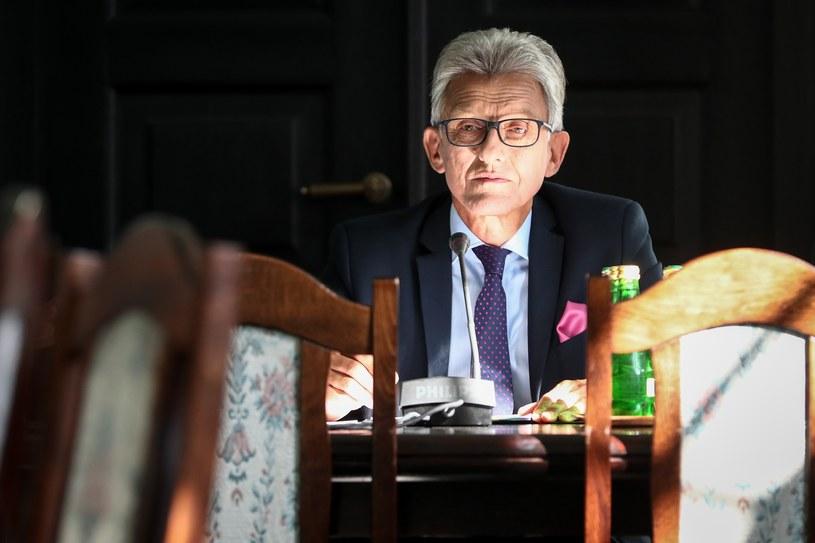 Stanisław Piotrowicz, przewodniczący komisji /Andrzej Iwańczuk/Reporter /East News