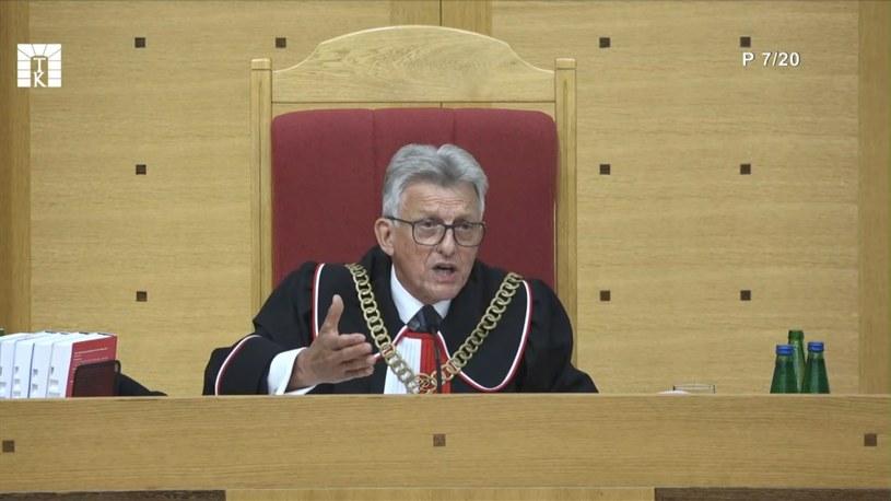 Stanisław Piotrowicz /Trybunał Konstytucyjny /