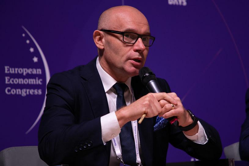 Stanisław Prusek, dyrektor naczelny Głównego Instytutu Górnictwa /Fot. Ireneusz Rek /INTERIA.PL