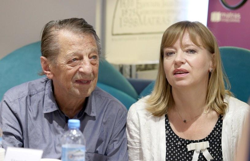 Stanisław Radwan i Dorota Segda /Damian Klamka /East News