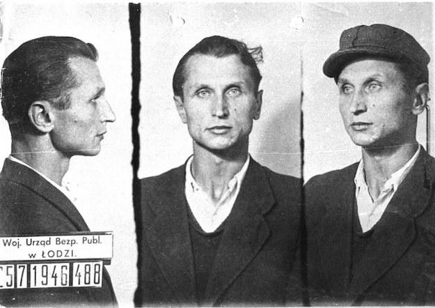 """Stanisław Sojczyński """"Warszyc"""". Zdjęcie wykonane po aresztowaniu w 1946 roku /domena publiczna"""