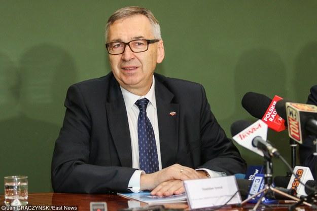 Stanisław Szwed, sekretarz stanu w Ministerstwie Rodziny, Pracy i Polityki Społecznej, fot. Jan Graczyński /Agencja SE/East News