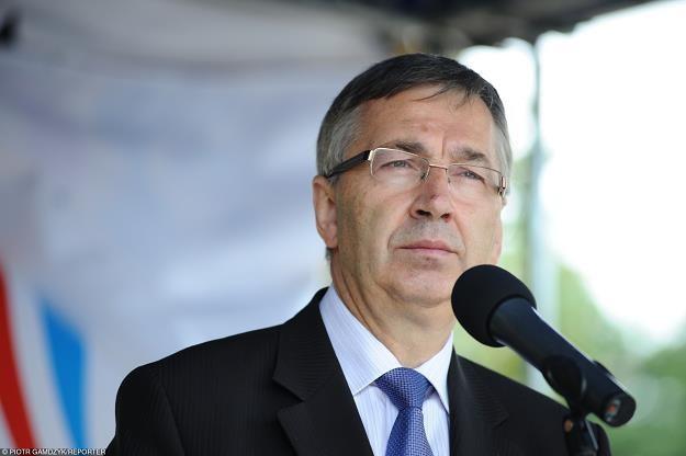 Stanislaw Szwed, wiceminister rodziny. Fot. Piotr Gamdzyk /Reporter