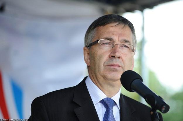Stanislaw Szwed, wiceminister rodziny /Piotr Gamdzyk /Reporter