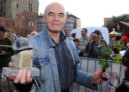 Stanisław Tym z Grang Prix Festiwalu Dobrego Humoru /AKPA