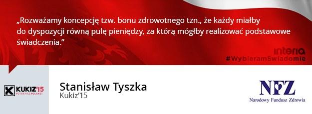 Stanisław Tyszka /INTERIA.PL
