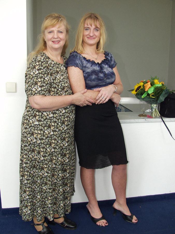 Stanisława Celińska z córką /Niemiec /AKPA