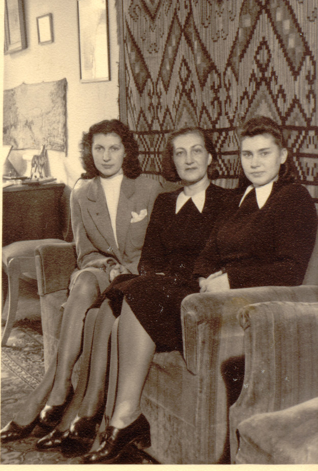 Stanisława Rachwałowa z córkami /IPN