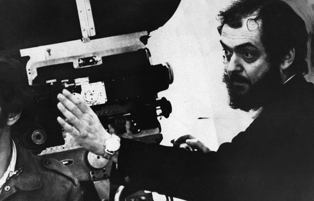 Stanley Kubrick podczas pracy na planie /Getty Images/Flash Press Media