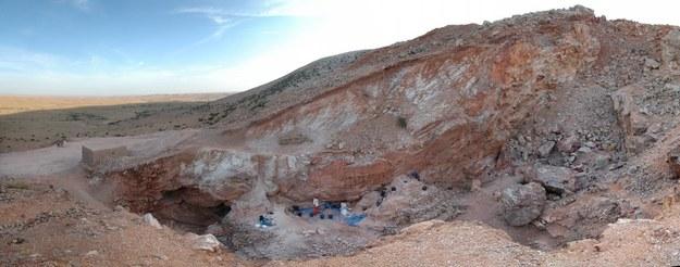 Stanowisko archeologiczne na pustyni w Maroku /SHANNON MCPHERRON /PAP/EPA