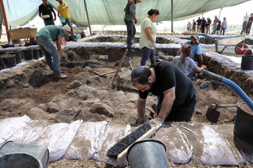 Stanowisko archeologiczne w południowym Izraelu /Gil Cohen Magen/Xinhua News /East News