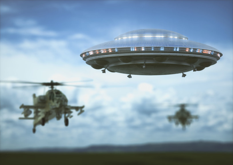 Stany Zjednoczone traktowały wzmianki o UFO bardzo poważnie /123RF/PICSEL