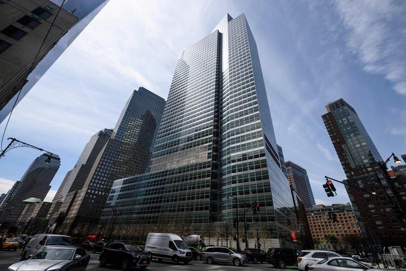 Stany Zjednoczone zmierzają do rekordowo niskiego bezrobocia. Nz. siedziba Goldman Sachs w Nowym Jorku /AFP
