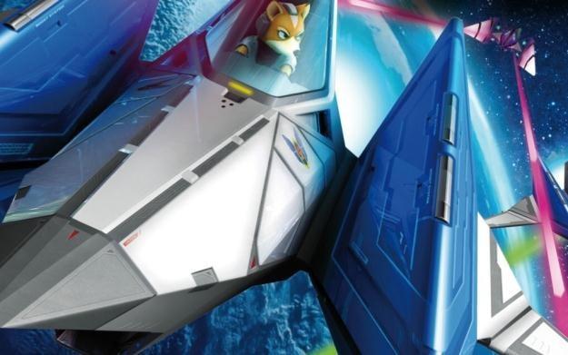 Star Fox 64 3D - motyw graficzny /Informacja prasowa