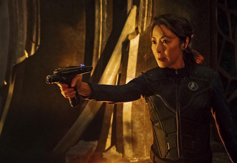 """""""Star Trek: Discovery"""": Michelle Yeoh /© 2017 CBS Interactive. All Rights Reserved/Jan Thijs/Netflix /materiały prasowe"""