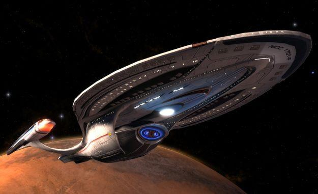 Star Trek Online - motyw graficzny /Informacja prasowa
