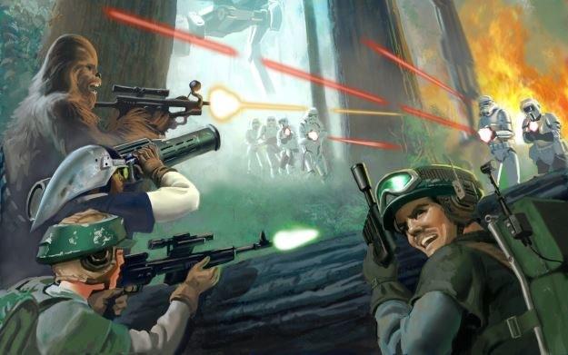 Star Wars: Battlefront - motyw graficzny /materiały prasowe