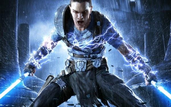 Star Wars: Force Unleashed II - motyw graficzny /Informacja prasowa