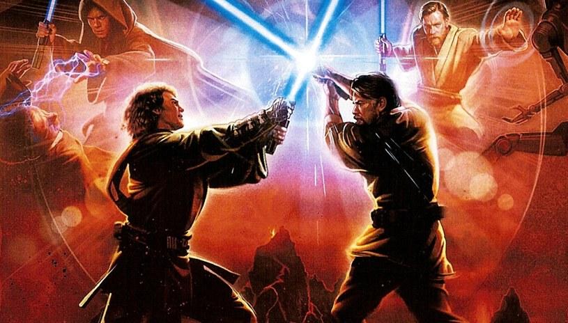 Star Wars III: Zemsta Sithów - fragment plakatu z filmu /materiały prasowe
