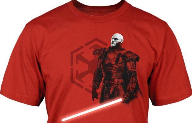 Star Wars - jedna z opisywanych koszulek /Informacja prasowa