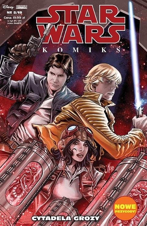 Star Wars Komiks 2/2018 /materiały prasowe