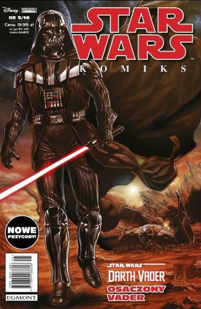 Star Wars Komiks 5/2016 /materiały prasowe