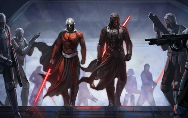 Star Wars: The Old Republic - motyw graficzny /Informacja prasowa