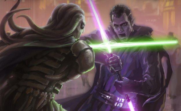 Star Wars: The Old Republic - walka ucznia z byłym mistrzem /Informacja prasowa