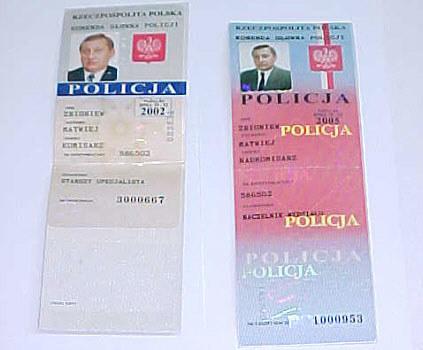 Stara i nowa legitymacja (kliknij) /INTERIA.PL