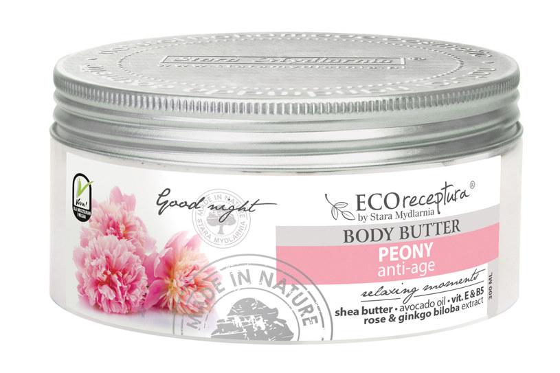 Stara Mydlarnia: Eco receptura Peony - Masło do ciała /materiały prasowe