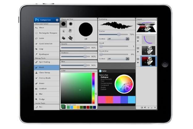 Stara wizualizacja Photoshopa na iPadzie /Fotoblogia.pl