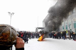 Starcia górników z policją przed JSW