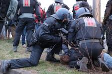 Starcia na proteście koronasceptyków w Niemczech. Policja użyła armatki wodnej