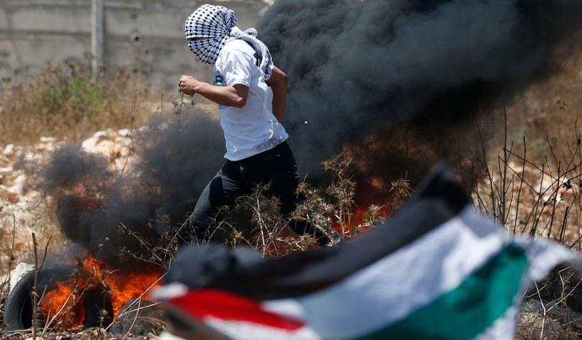 Starcia Palestyńczyków z izraelskim wojskiem /AAFAR ASHTIYEH /East News