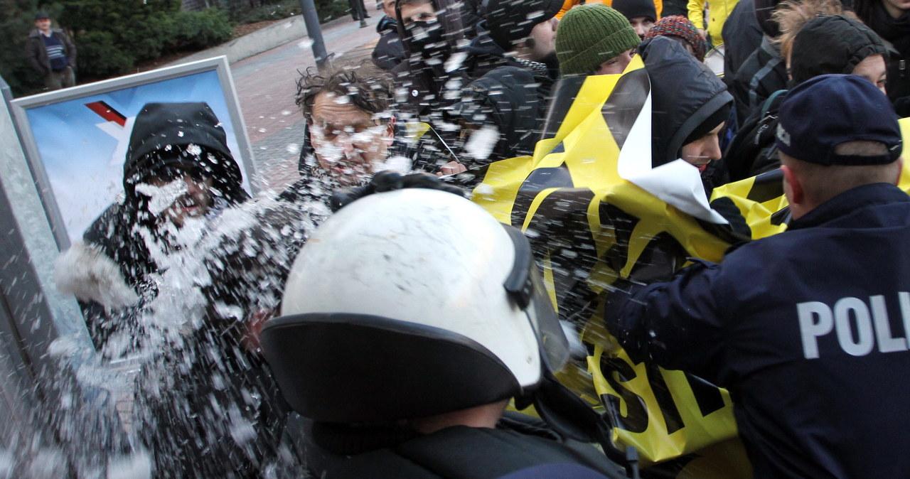 Starcia policji z anarchistami w Poznaniu