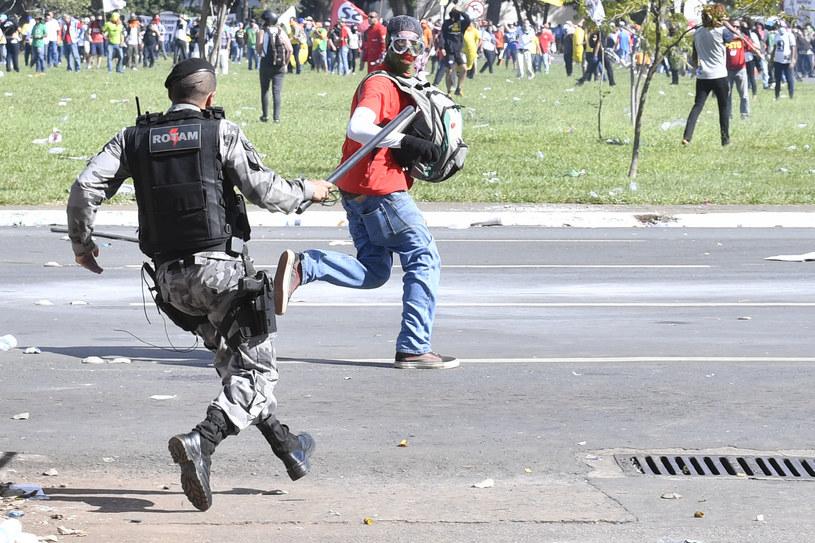 Starcia w Brasilii /AFP